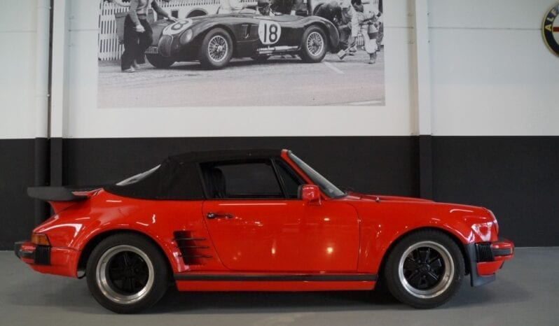 Porsche 911 964 Kremer Turbo look convertible full