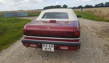 Chrysler LeBaron cabriolet full