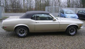Ford Mustang 5,0 313 Hk Cabrio Aut full