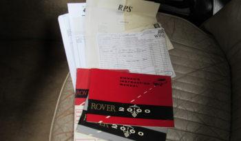 Rover P6 2000 SC full