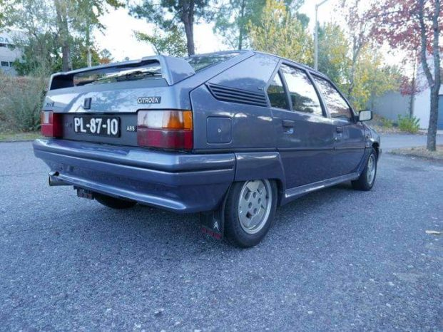 Citroën BX 19 GTI 16v full
