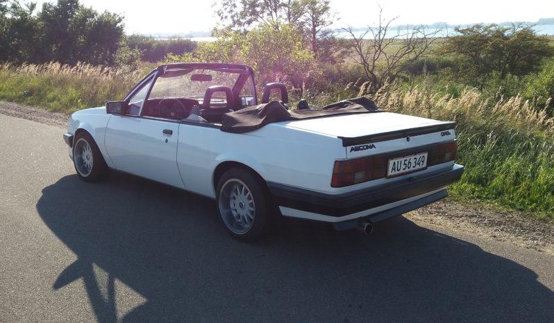 Opel Ascona cabriolet full