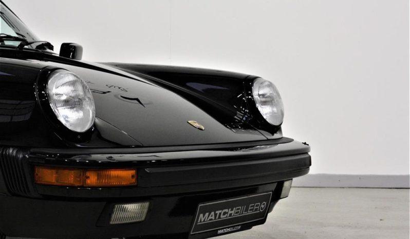 Porsche 911 Carrera 3,2 207 HK Cabriolet full