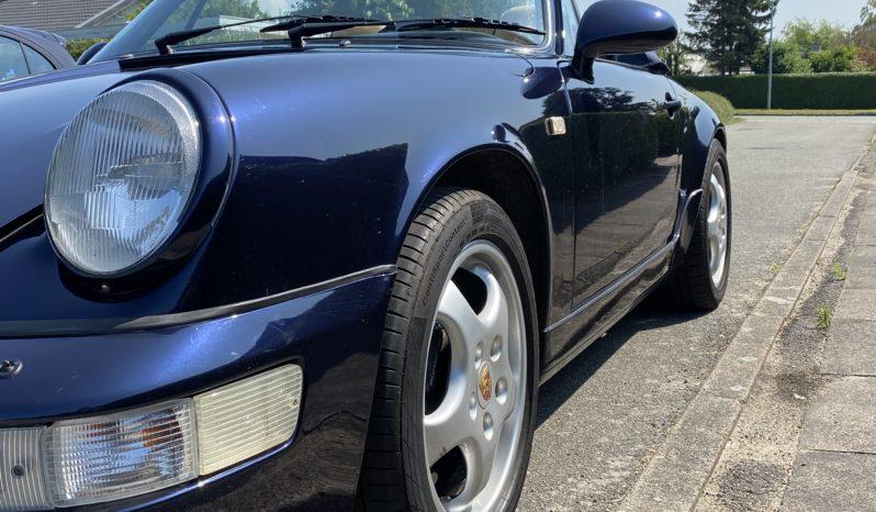 Porsche 911 964 carrera-4 Cabriolet full