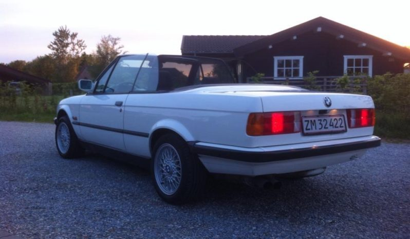 BMW 3-serie E30 320i 6-cyl cabriolet full