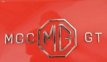 MG MGC 2,9 GT Coupe Aut full