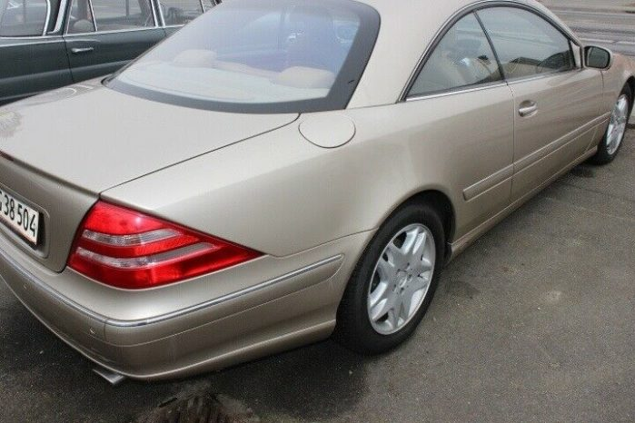 Mercedes-Benz CL-Klasse CL500 full