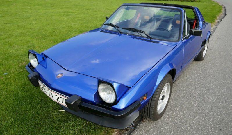 Fiat X 1/9 1,3 full
