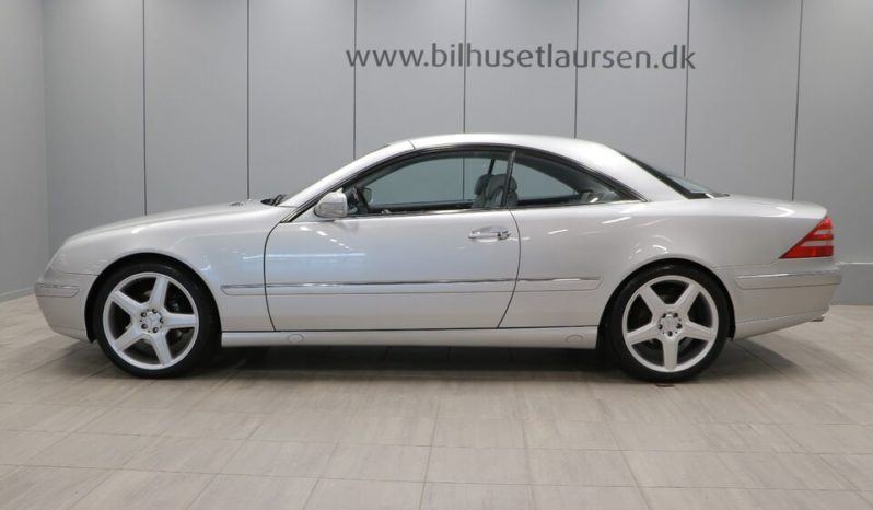 Mercedes-Benz CL-Klasse CL500 Aut full