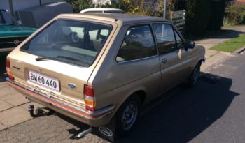 Ford Fiesta 1978 full
