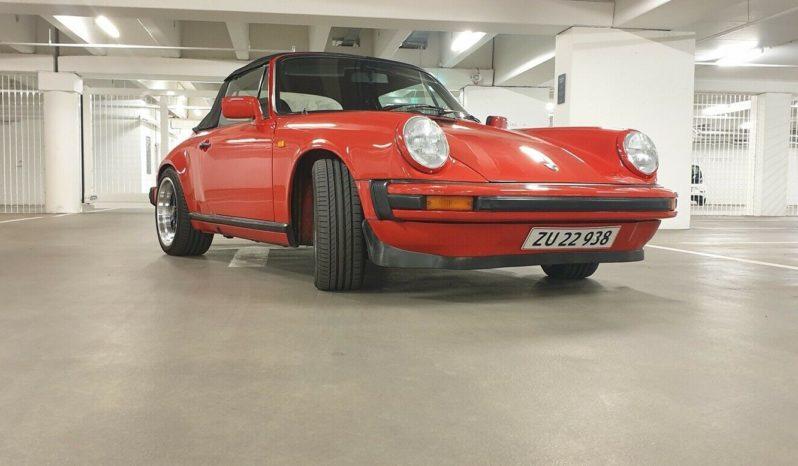 Porsche 911 3,2 Cabriolet full