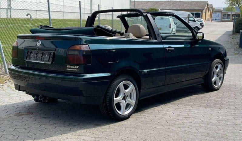 VW Golf III 2,0 Cab Avantgarde full