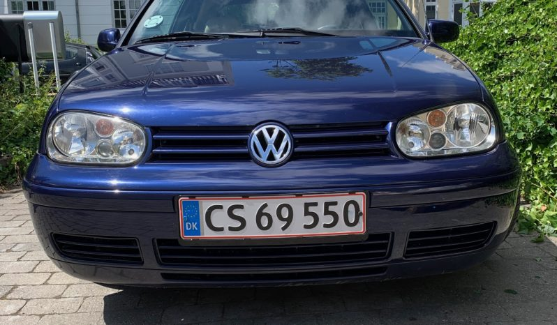 VW Golf golf IV 2,0 highline cabriolet full